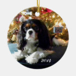 Cavalier King Charles Spaniel Personalize Ornament