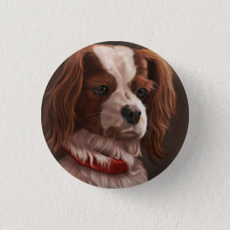 Cavalier King Charles Spaniel Pinback Button