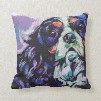 Cavalier King Charles Spaniel Pop Art Pillow