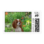 Cavalier King Charles Spaniel Postage Stamp