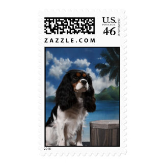 Cavalier King Charles Spaniel Postage Stamps