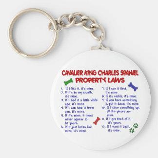 CAVALIER KING CHARLES SPANIEL Property Laws 2 Keychain