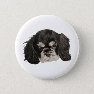 Cavalier King Charles Spaniel Puppy Pinback Button