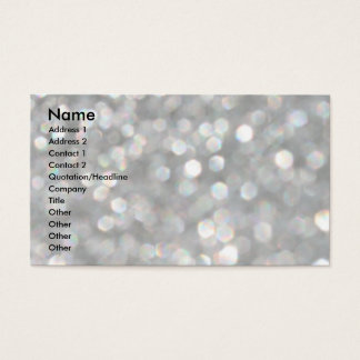 Cavalier King Charles Spaniel - Raven Onyx Business Card