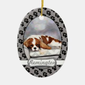 Cavalier King Charles Spaniel - Remington Ceramic Ornament