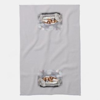 Cavalier King Charles Spaniel - Remington Hand Towel