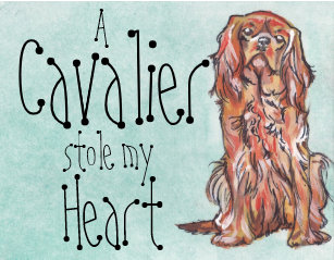 Cavalier King Charles Spaniel Art   Wall Décor  1706561601