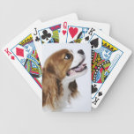 Cavalier King Charles Spaniel, side view Bicycle Poker Cards