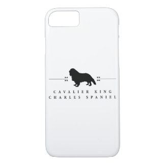 Cavalier King Charles Spaniel silhouette -1- iPhone 7 Case