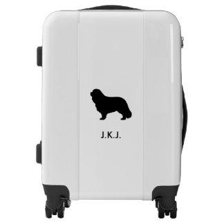 Cavalier King Charles Spaniel Silhouette Luggage