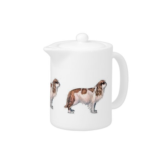 Cavalier King Charles Spaniel Teapot
