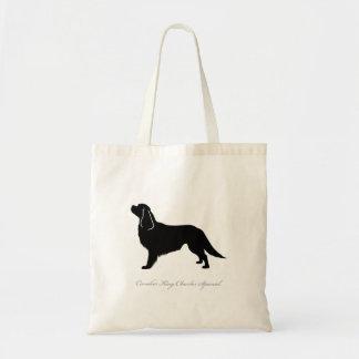 Cavalier King Charles Spaniel Tote Bag (black)