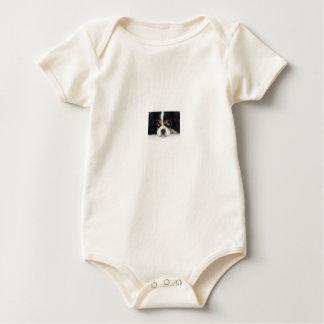 Cavalier King Charles Spaniel Tri Baby Bodysuit
