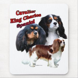 Cavalier King Charles Spaniel Trio 2 Mouse Pad