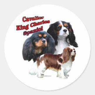 Cavalier King Charles Spaniel Trio 2 - Sticker