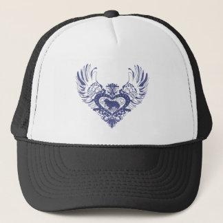 Cavalier King Charles Spaniel Winged Heart Trucker Hat