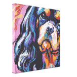Cavalier King Charles Spaniel wrapped canvas Canvas Prints