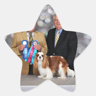 Cavalier King Charles Spaniel - Zoe Star Sticker