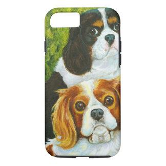 Cavalier King Charles Spaniels Portrait iPhone 7 Case