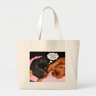 Cavalier King Charles Spaniels Puppies Bags