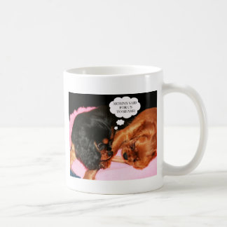 Cavalier King Charles Spaniels Puppies Coffee Mug