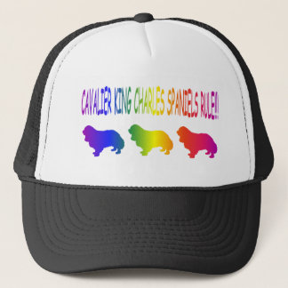 Cavalier King Charles Spaniels Rule Trucker Hat