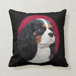 Cavalier King Charles Tri-Color Pillow