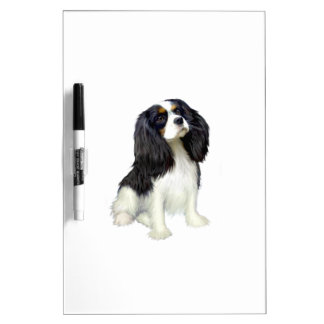 Cavalier King Charles - Tri Colored Dry Erase Whiteboards