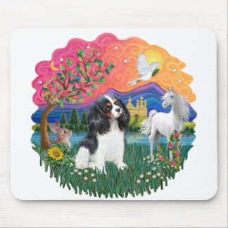 Cavalier King Charles (tri) Mouse Pad