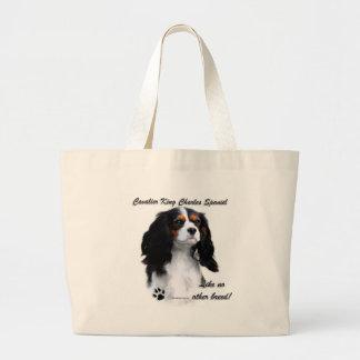 Cavalier Like No Other Breed Jumbo Tote Bag