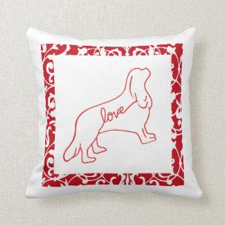 Cavalier Love Throw Pillow 2