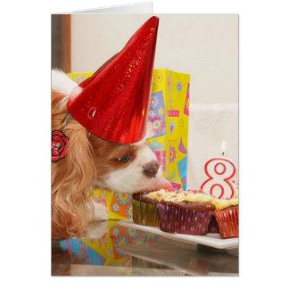 Cavalier Memorable Birthday Greeting Card