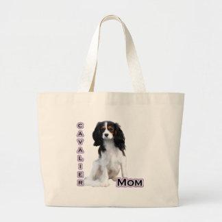 Cavalier Mom 4 Tote Bag