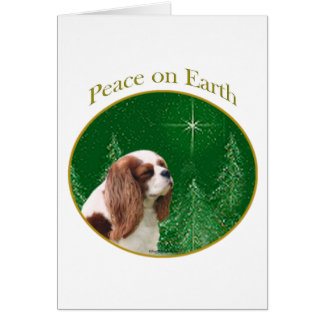 Cavalier Peace on Earth Card
