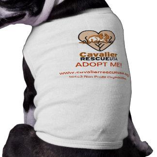Cavalier Rescue Dog Shirt