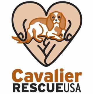Cavalier Rescue USA Logo Statuette