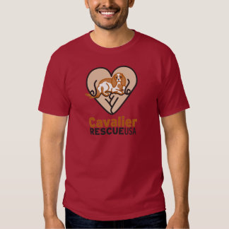 Cavalier Rescue USA Logo Tee Shirt