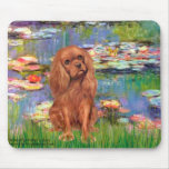 Cavalier (Ruby7) - Lilies 2 Mouse Mats