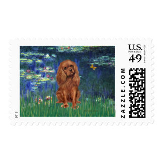 Cavalier (Ruby7) - Lilies 5 Postage