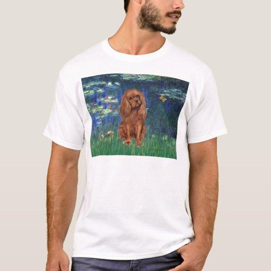 Cavalier (Ruby7) - Lilies 5 T-Shirt