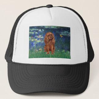 Cavalier (Ruby7) - Lilies 5 Trucker Hat
