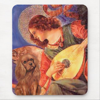 Cavalier (Ruby7) - Mandolin Angel Mouse Pad