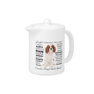 Cavalier Traits Teapot