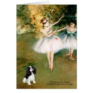 Cavalier (Tri5) - Two Dancers Greeting Card