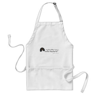 CavalierBlkTanBrother Adult Apron