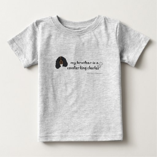 CavalierBlkTanBrother Baby T-Shirt