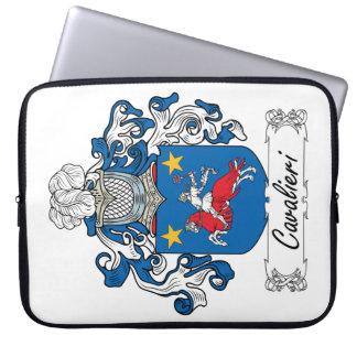 Cavalieri Family Crest Laptop Sleeve