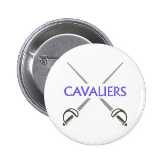 CAVALIERS 2 INCH ROUND BUTTON