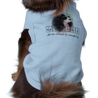 Cavaliers - all the elements of a beautiful dog tee