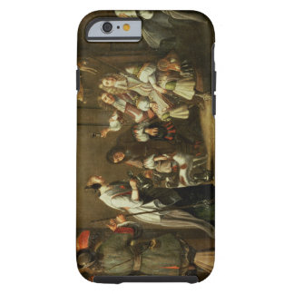 Cavaliers and Companions Carousing in a Barn Tough iPhone 6 Case